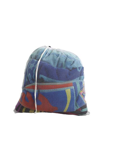 Coghlans Bolsa de red - Para tener el equipaje ordenado - azul/blanco